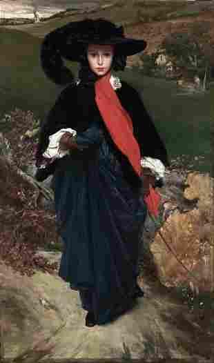 Frederic Leighton - Portrait of May Sartoris