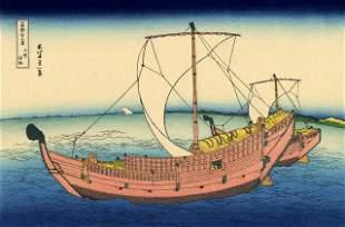 Hokusai - The Kazusa Sea Route