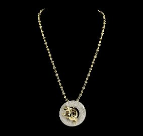 The Legend of the Dragon 18KT Gold 8.50 ctw Diamond