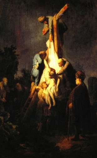 Rembrandt -Crucifixion
