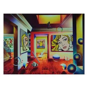 "Ferjo, ""Pop Interior"" Limited Edition on Canvas,"