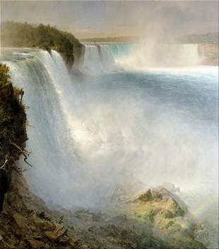 Frederic Edwin Church - Niagra Falls from the American