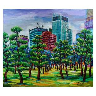Trees in Bloom by Rafael Original