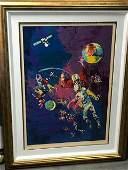 Satellite Football by Leroy Neiman