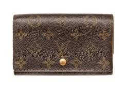 Louis Vuitton Brown Porte Monnaie Wallet