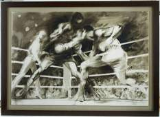 The Maulers by LeRoy Neiman 83/120