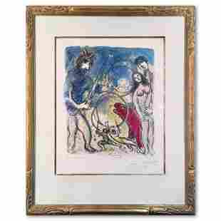 Plate 8 from In the Land of the Gods by Marc Chagall