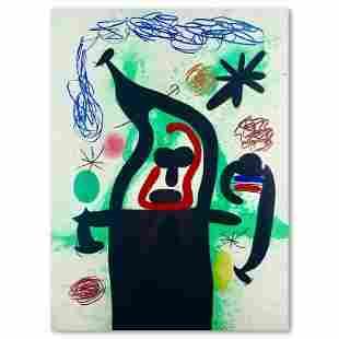 La Harpie by Joan Miro (1893-1983)