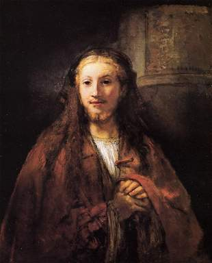 Unknown - Christ with a Pilgrims Staff