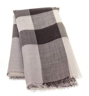Burberry Grey Icon Cashmere Scarf