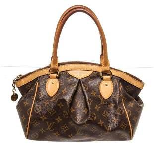 Louis Vuitton Brown Monogram Tivoli PM Shoulder Bag