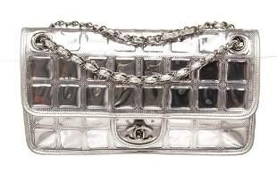 Chanel Sliver Ice Cube Flap Shoulder Bag