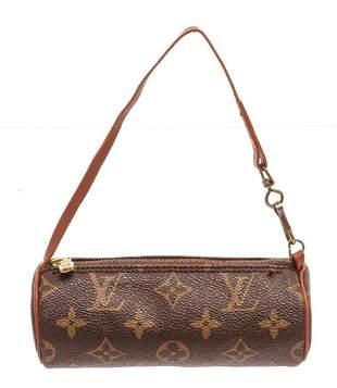 Louis Vuitton Brown Monogram Mini Papillon Shoulder Bag