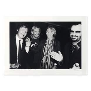 Paul McCartney, Joe Walsh, Keith Richards & Ringo Starr
