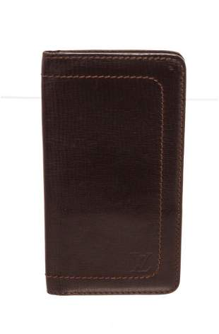 Louis Vuitton Brown Canvas Long Card Wallet