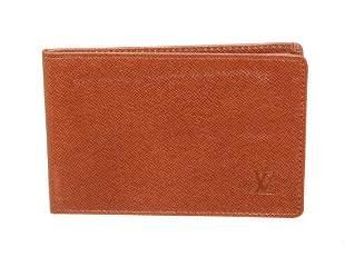 Louis Vuitton Red Monogram ID Holder
