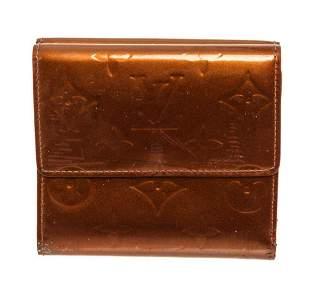 Louis Vuitton Brown Monogram Vernis Leather Elise Sarah