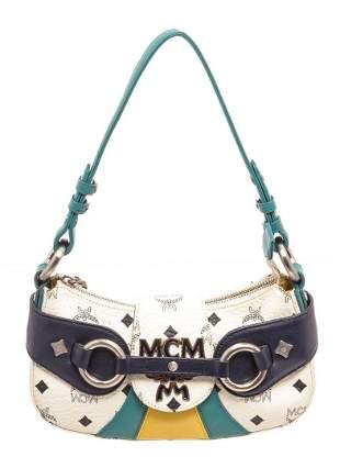MCM Multicolor Visetos Canvas Shoulder Bag