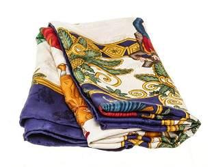 Hermes Multicolor Joies D Hiver Scarf