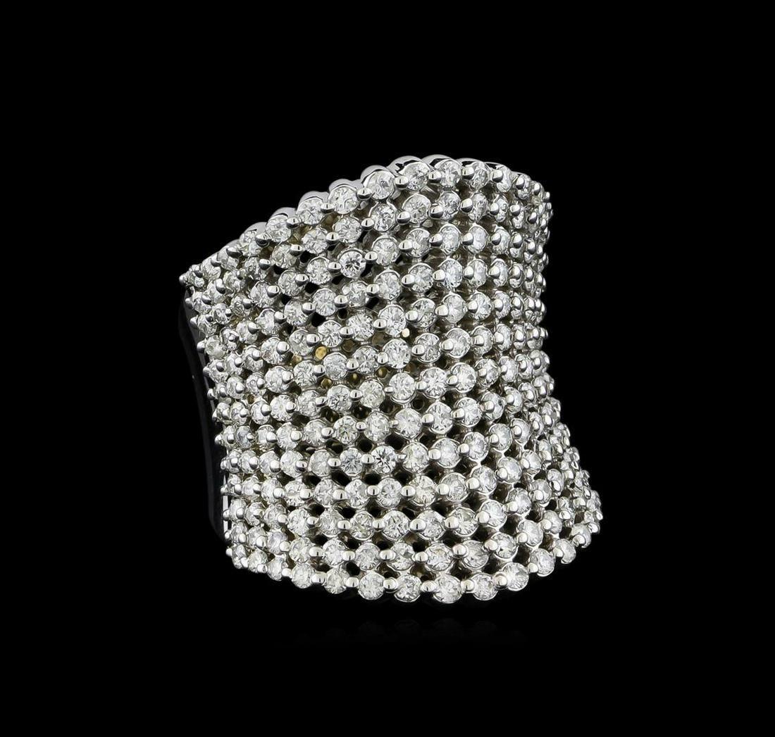 2.50 ctw Diamond Ring - 14KT White Gold - 14KT White