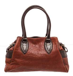 Fendi Red Leather De Jour Tote Bag