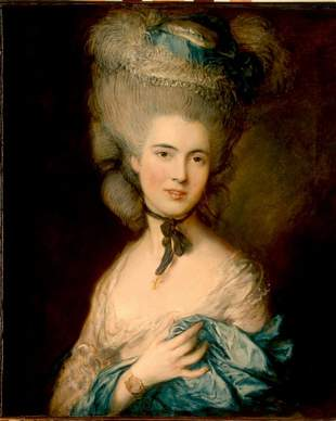 Thomas Gainsborough - A Woman in Blue