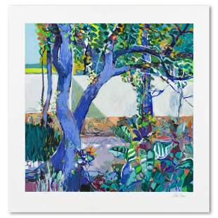 Walled Garden by Robert Frame (1924-1999)