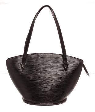 Louis Vuitton Black St. Jacques MM Tote Bag