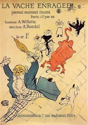 Toulouse-Lautrec - La Vache Enragee