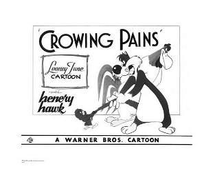 Warner Brothers Hologram Crowing Pains Sylvester