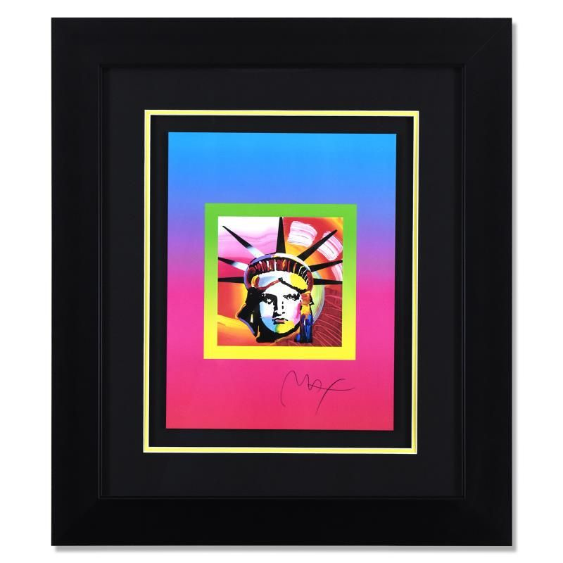 Liberty Head on Blends Ver II by Peter Max
