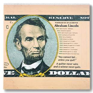 Abraham Lincoln, Portrait of an Achiever by Steve