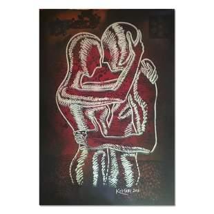 Scarlet Rapture by Kostabi Original