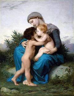 William Bouguereau - Fraternal Love