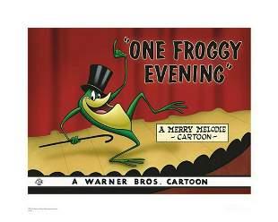 Warner Brothers Hologram One Froggy Evening