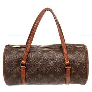 Louis Vuitton Brown Vintage Papillon Shoulder Bag