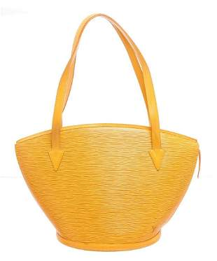 Louis Vuitton Yellow Infini Leather St. Jacques