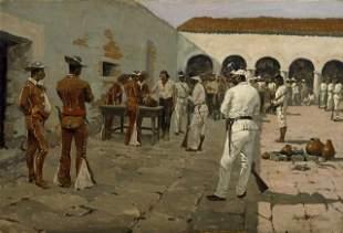Frederic Sackrider Remington - The Mier Expedition -