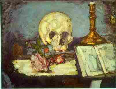 Edgar Degas - Skull