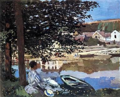 Claude Monet - The River has Burst its Banks