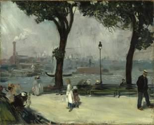 William Glackens - East River Park