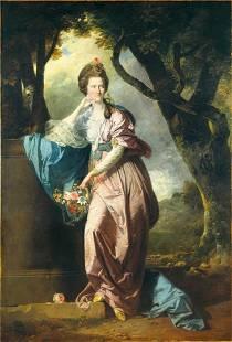 Johann Zoffany - Mrs Woodhull