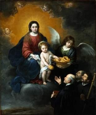 Bartolom� Esteban Murillo - The Infant Christ