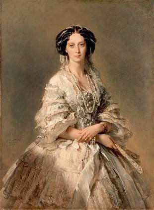 Winterhalter - Portrait of Empress Maria Alexandrovna