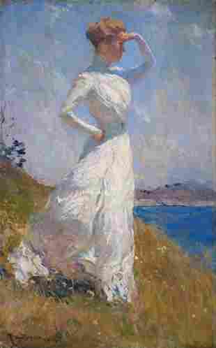 Frank Weston Benson - Sunlight