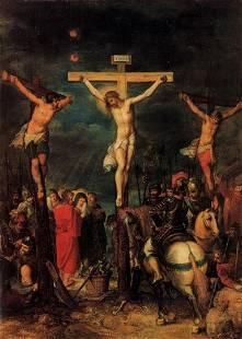 Frans Francken - Crucifixion