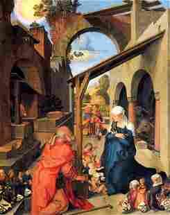 Albrecht D�rer- Birth of Christ