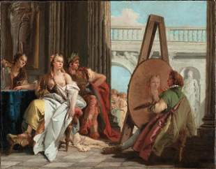 Tiepolo - Alexander the Great and Campaspe in the