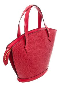 Louis Vuitton Red St. Jacques Tote Bag