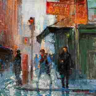 """David Hinchliffe """"Fanelli's Cafe"""""""